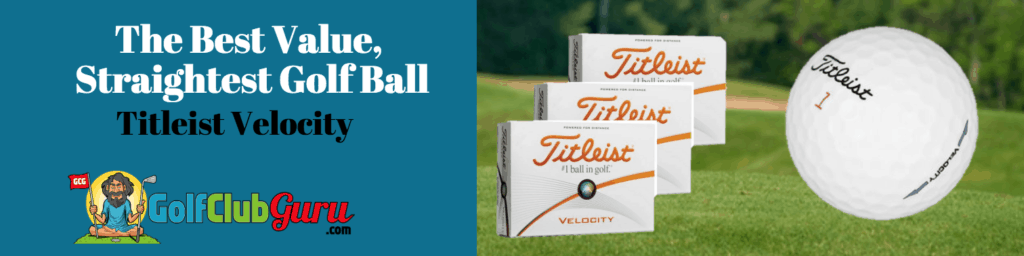titleist velocity golf ball review straightest