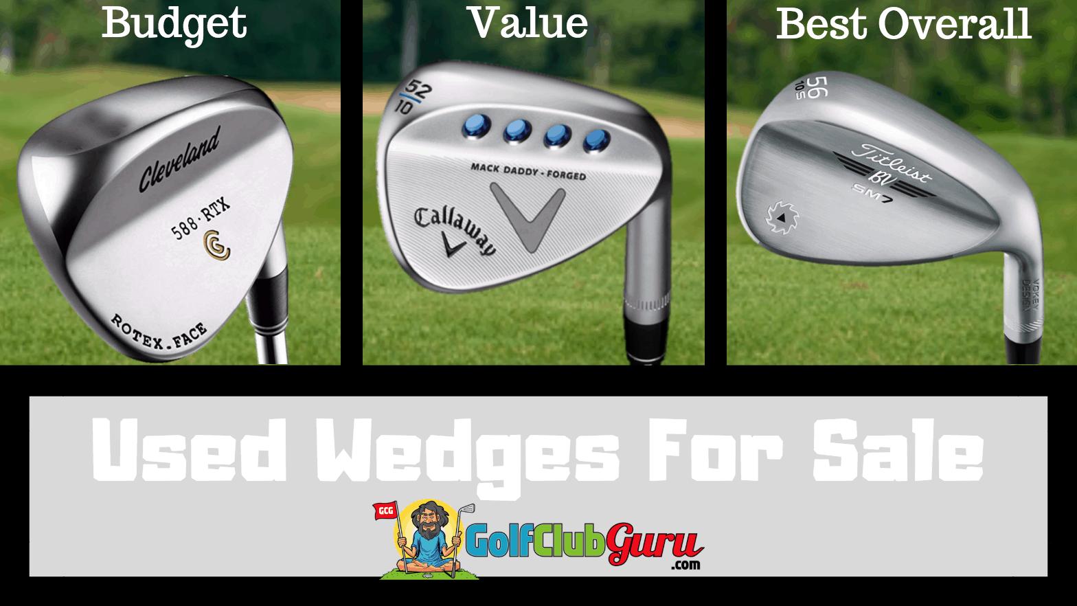 Used Golf Wedges for Sale | Golf Club Guru