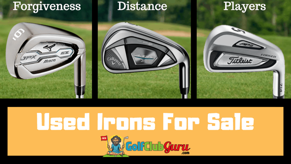 where to buy used irons golf sets