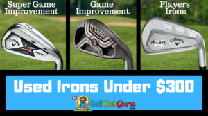 the best used irons sets under 300