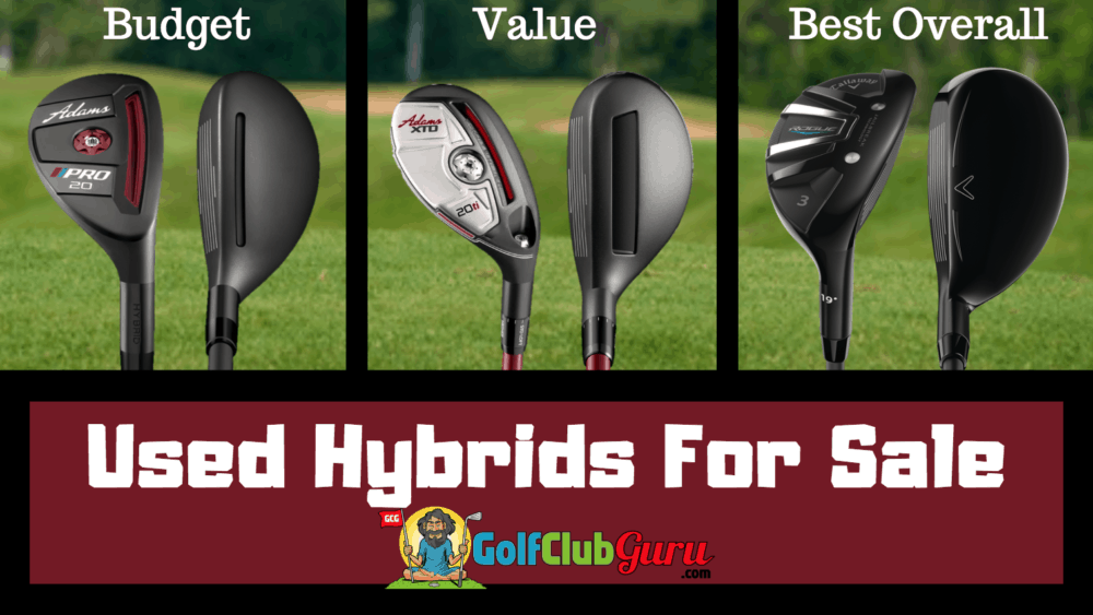 used hybrids golf clubs for sale