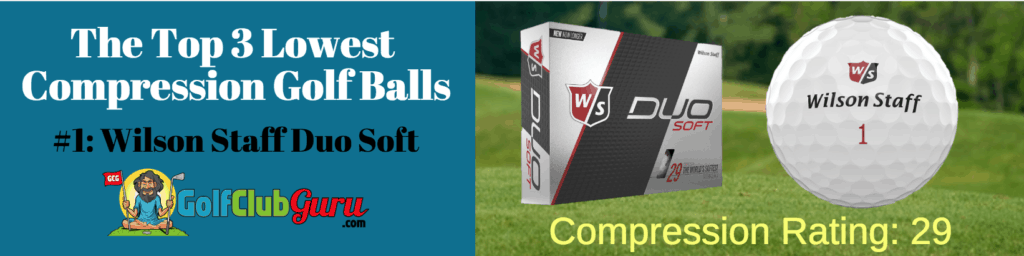 wilson duo golf balls low compression