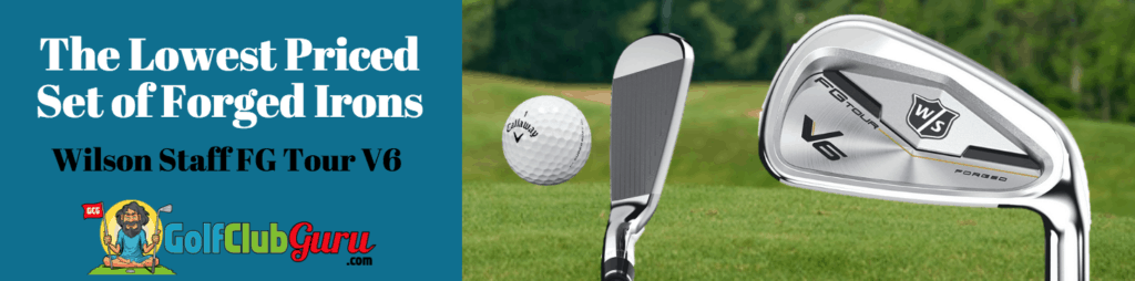 wilson staff fg tour v6 iron review pros cons