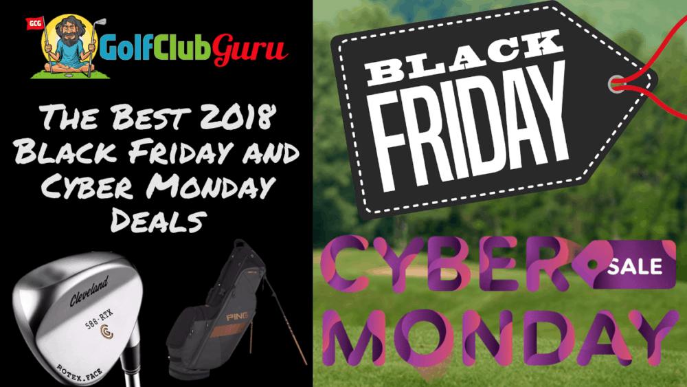golf deals black friday cyber monday 2018