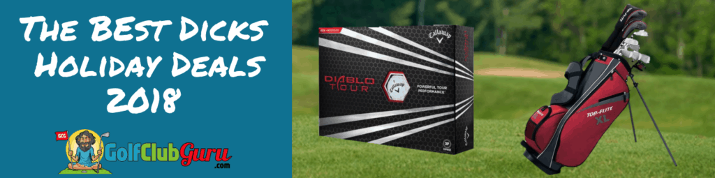 Dicks Cyber Monday Golf