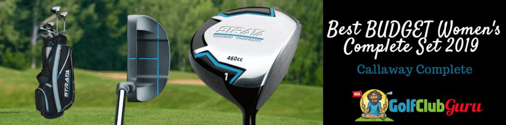 highest quality golf club women set