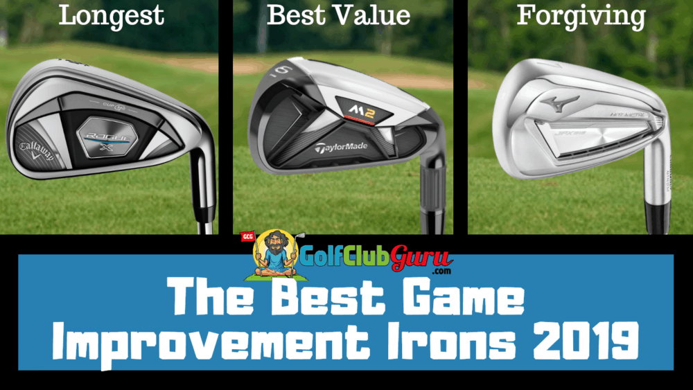 top game improvement irons 2019