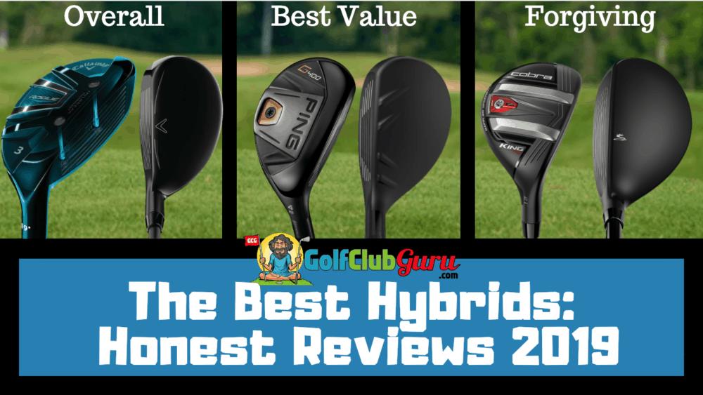 best hybrids 2019 golf