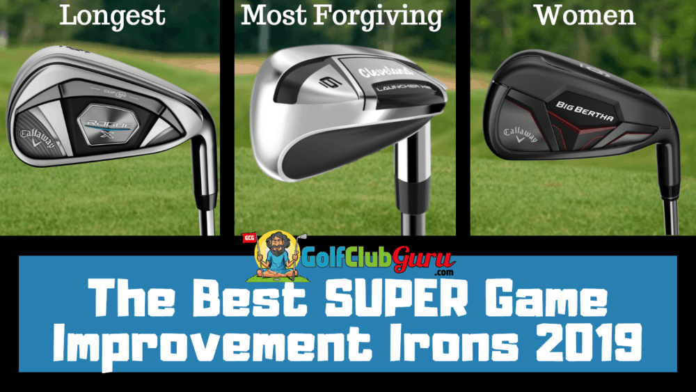 best performing irons for high handicappers easy forgiving