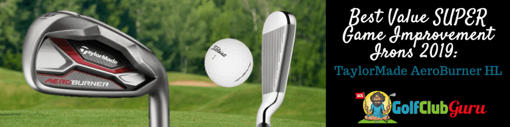 taylormade hl aeroburner irons review pros cons