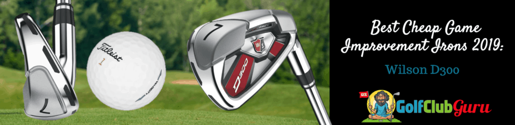 wilson irons under 200 game improvement