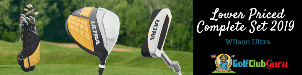 lower priced golf club set