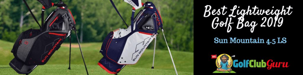 sun mountain ogio golf bag review