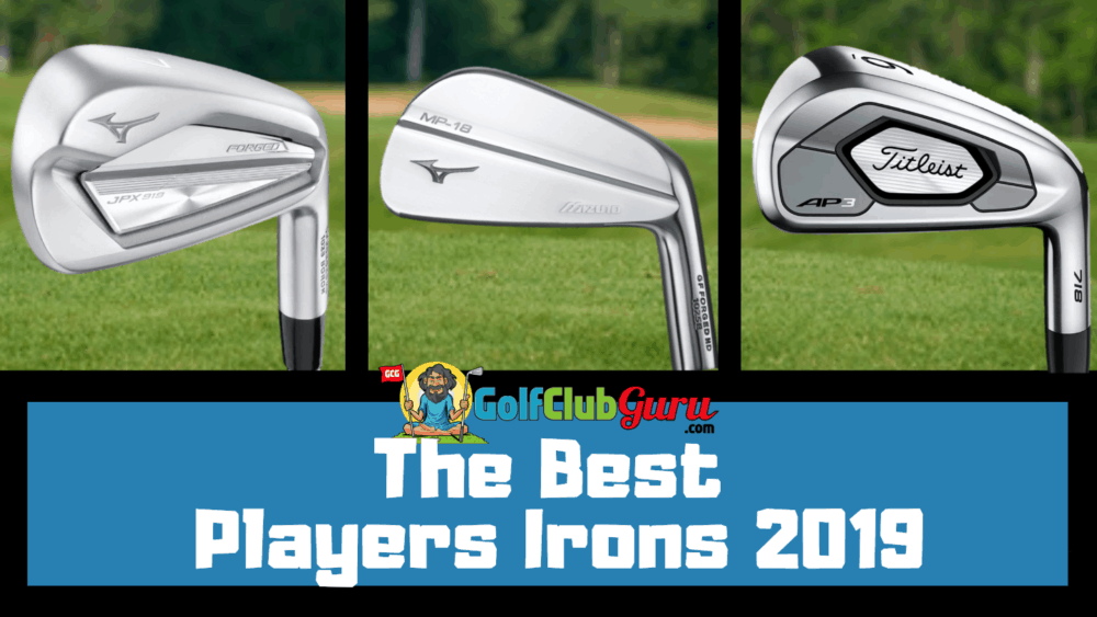 top players irons 2019