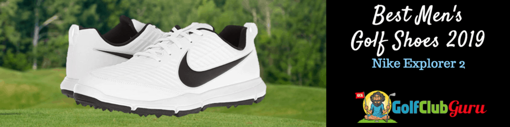 nike golf shoes white