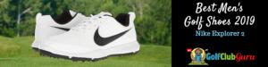 nike golf shoes white
