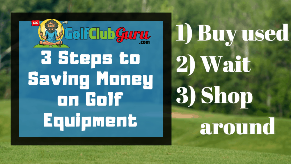 how to save money golf clubs