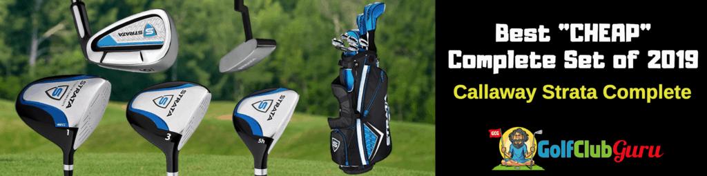 best mens golf clubs beginners complete set