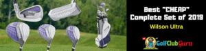 beginner women full complete golf set 2019