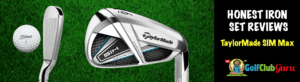 taylormade sim max iron game improvement set 2020