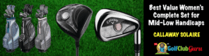 best performing complete set for female ladies golfers girls