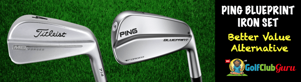 ping blueprint vs titleist mb irons comparison