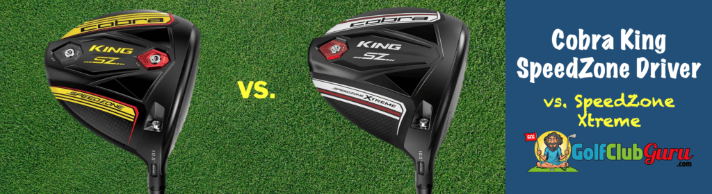 the difference between speedzone and cobra speedzone xtreme drivers