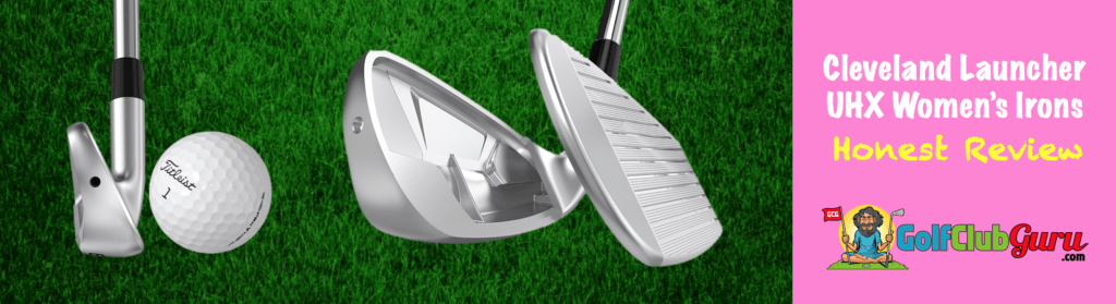 club face of cleveland launcher irons uhx