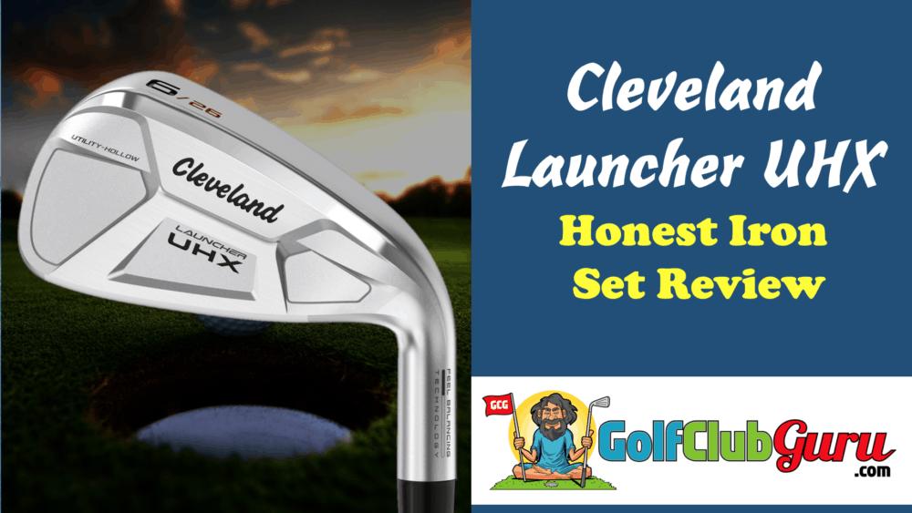 cleveland launcher uhx irons pros cons price photos