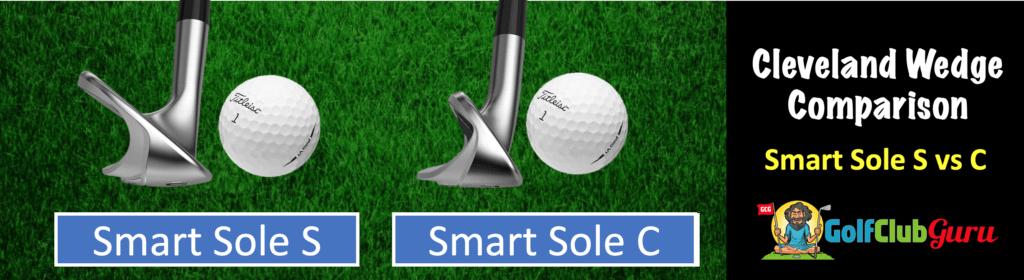 cleveland smart sole 2 3 4 s vs g vs c