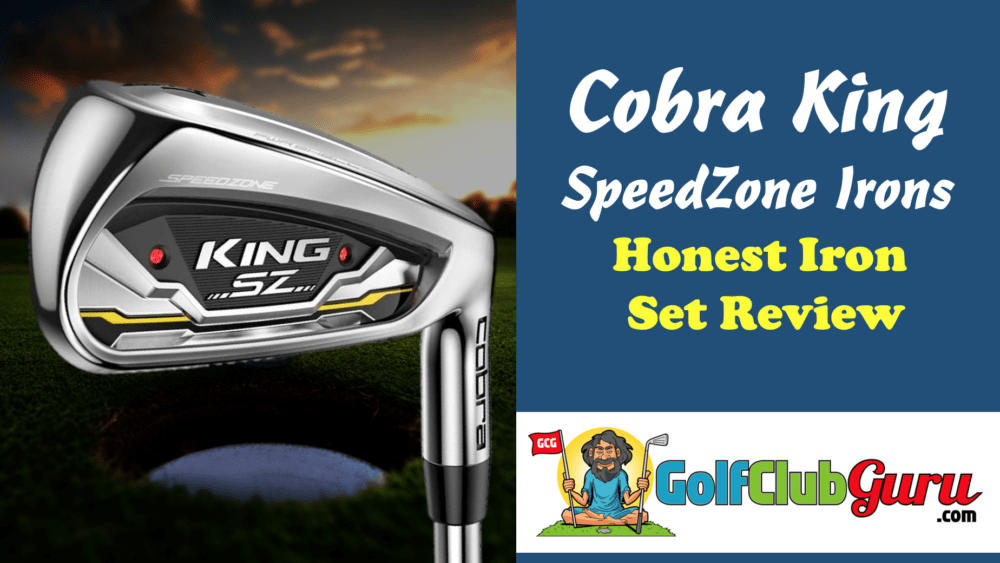 cobra king sz speedzone irons cover photo