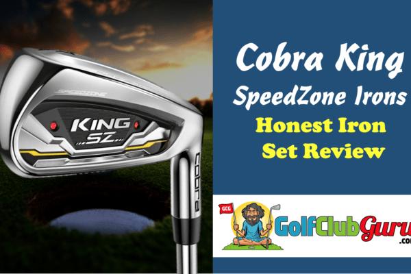 cobra king sz speedzone irons cover photo