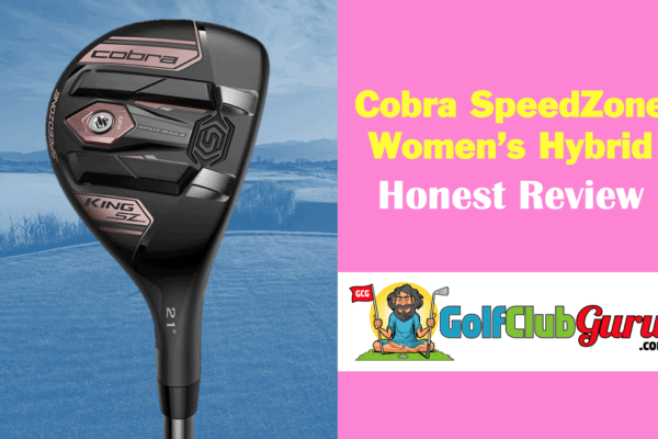cobra speedzone golf hybrid for women ladies handicap beginners seniors