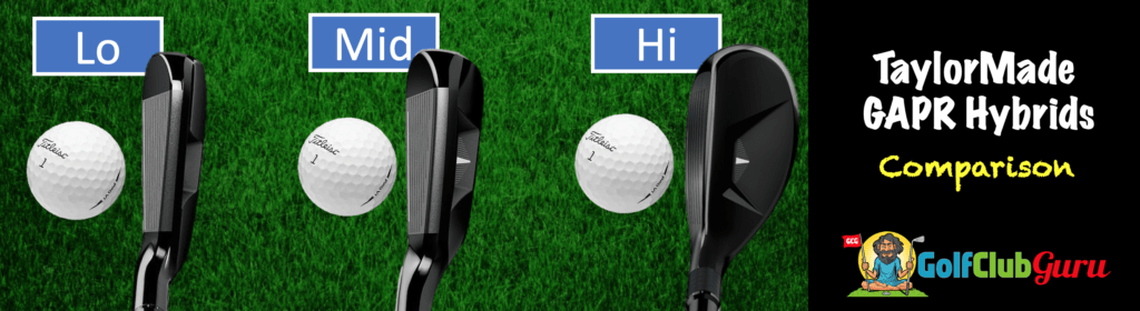 lo vs mid vs hi taylormade gapr difference pros cons price