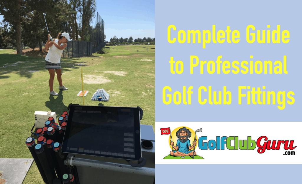 golf club fitting vs stock clubs off the shelf