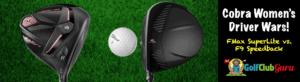 cobra f9 speedback female golfers best clubs