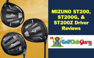 difference comparison between vs st200 st200g st200z mizuno drivers