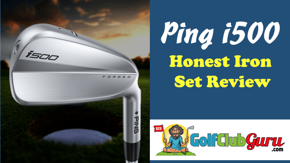 ping i500 iron set blade review
