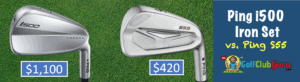 ping i500 vs ping s55 best value blade on the market