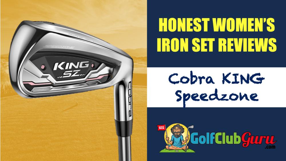 cobra king speedzone ladies womens irons golf clubs