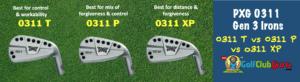 pxg 0311 gen 3 golf clubs