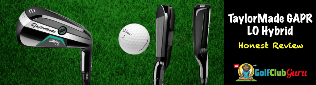 taylormade gapr lo low launching hybrid rescue driving iron 2020