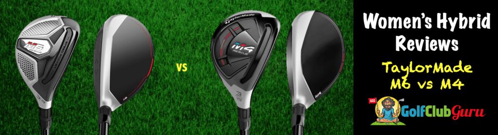 taylormade m4 vs m6 golf club comparison