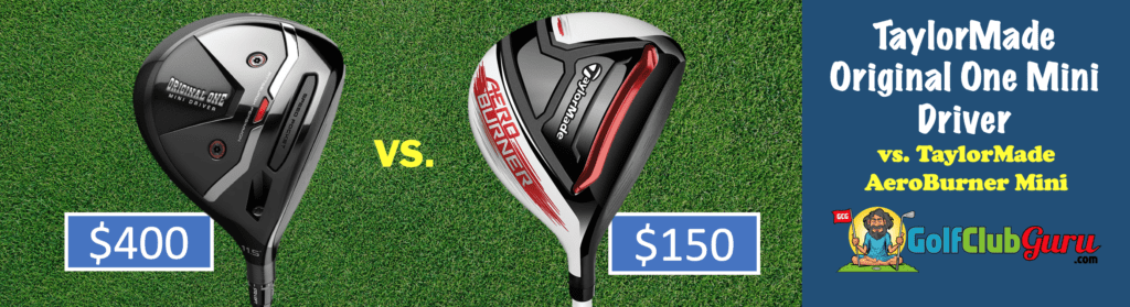 the best value mini driver taylormade sldr aeroburner comparison difference