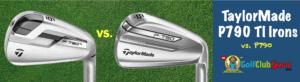 taylormade p790 vs p790 ti titanium