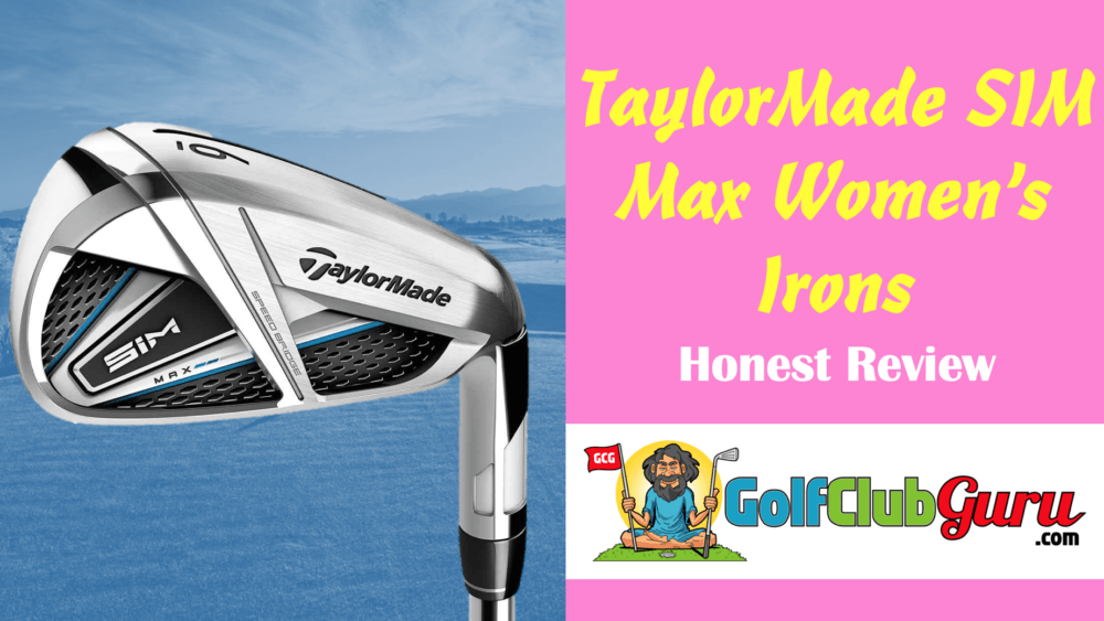 the taylormade sim max women irons ladies