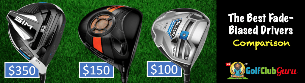 the best driver to hit fades comparison under 100