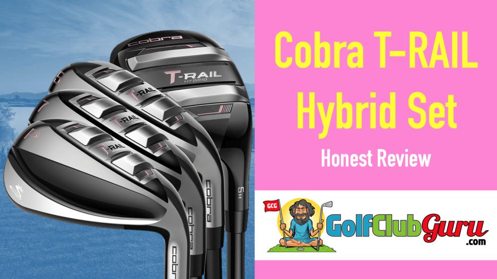 cobra t-rail hybrid iron golf clubs for women