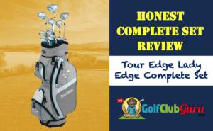 tour edge full set golf clubs women ladies