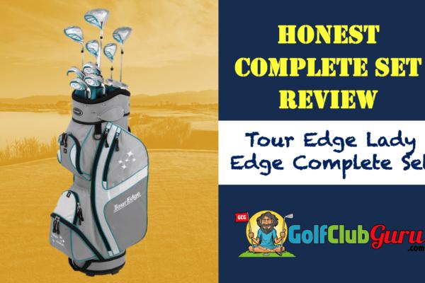 tour edge full set golf clubs women ladies